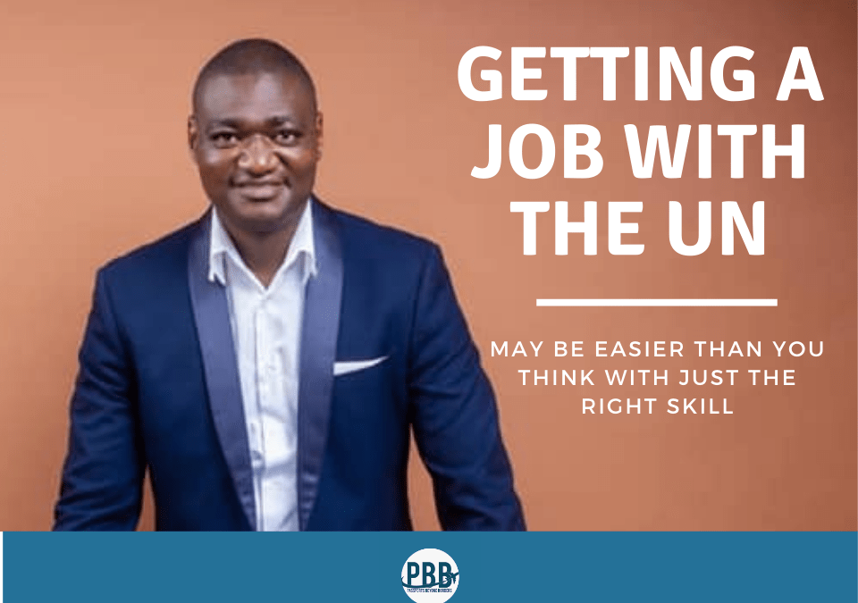 How to get a job with the United Nations