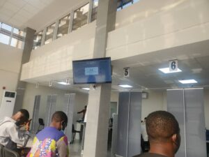 Inside Cameroon Passport Production Centre